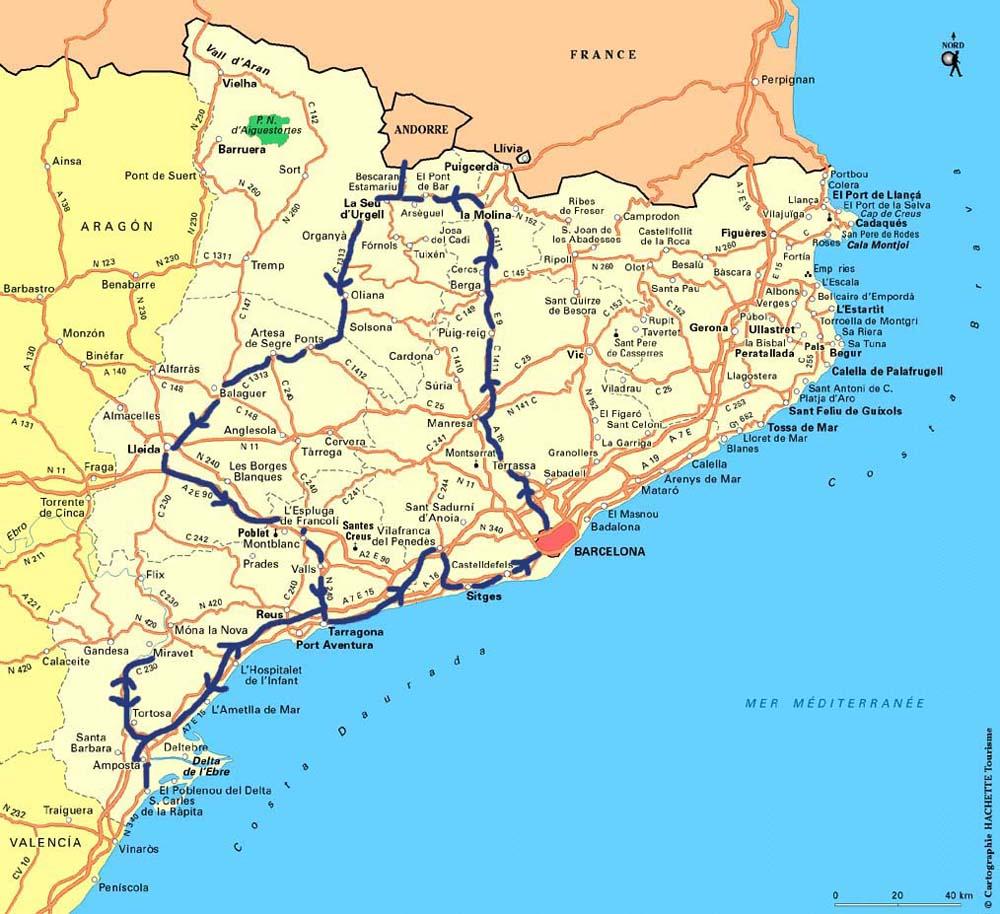 Mer et Montagne Espagne la Catalogne